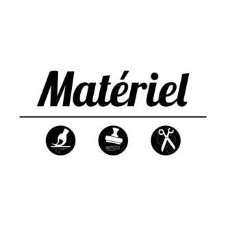 1. DIY Plaque de porte déco : Le matériel
