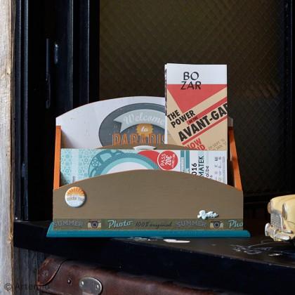 DIY Sweet Memories : Rangement pour courrier et dépliants