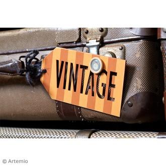 2. DIY Décorer les étiquettes en bois façon vintage