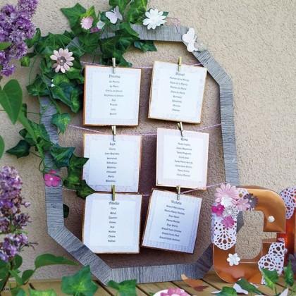 DIY Spécial mariage : Le plan de table romantique