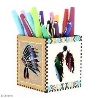 2. DIY Pot à crayons Grand Ouest : Réalisation