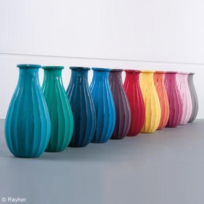diy objet d co les vases en verre color s id es. Black Bedroom Furniture Sets. Home Design Ideas