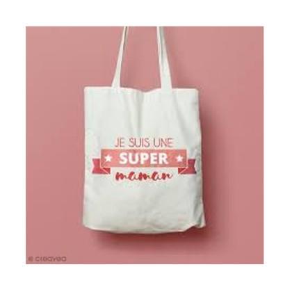 DIY Bricolage Fête des Mères : Customisation de tote bag