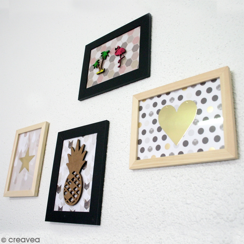 DIY Décoration : Mur De Cadres Tropical