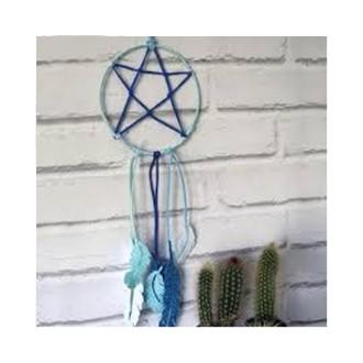 2. Réaliser une étoile en suédine