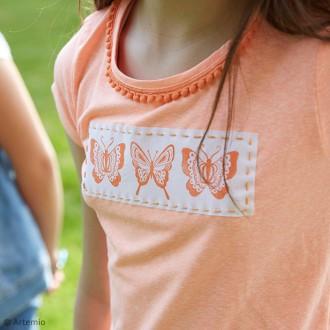 2. Comment customiser un tee-shirt papillons ? Les étapes de réalisation