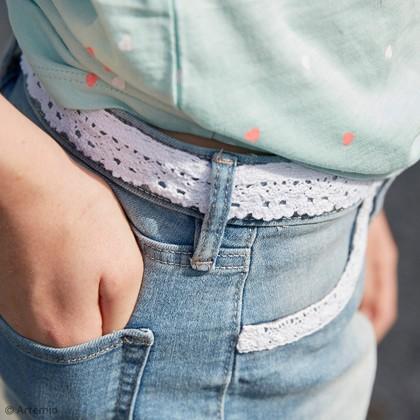 DIY Artemio customisation mode : Le short à dentelle