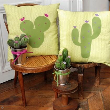 DIY Décoration : Les coussins cactus