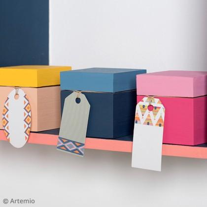 DIY décoration chambre d'enfant : Les boîtes à trésors cubiques
