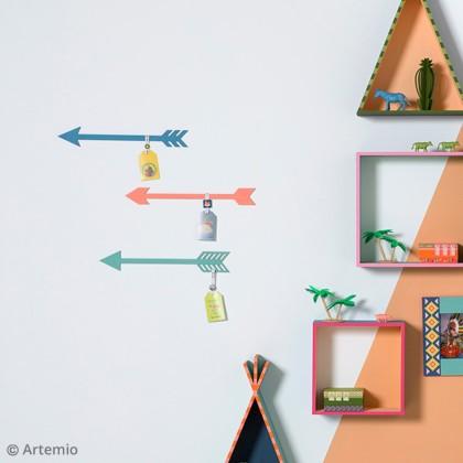 DIY Déco murale collection Totem Artemio : Les flèches décoratives