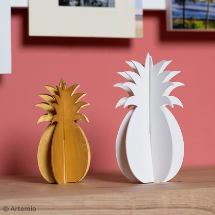DIY Décorer un ananas en bois