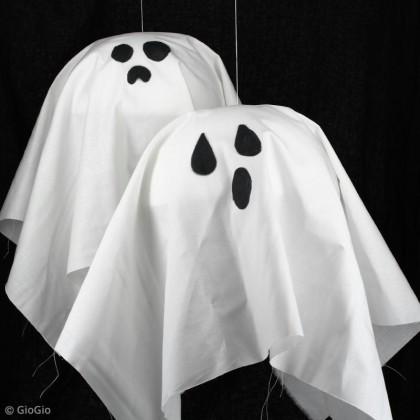 Fantômes d'Halloween à suspendre