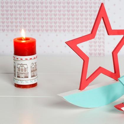 DIY : Décorer des bougies
