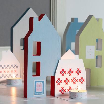 Décoration petites maisons en bois