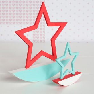 2. Les étoiles en bois