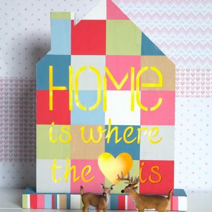 DIY : Lampe en bois Home à décorer