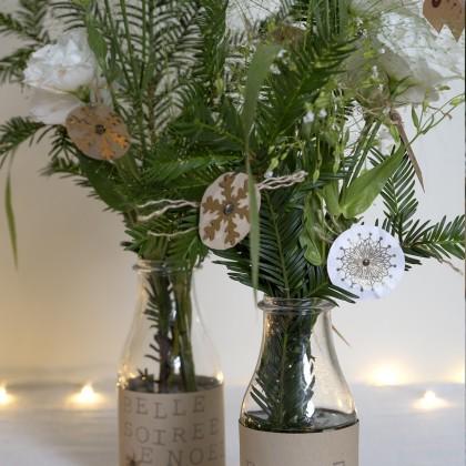 DIY : Fabriquer des décorations flocons en papier