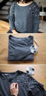 2. Comment décorer un pull simple ?