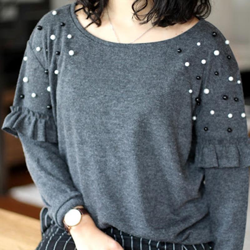 Meilleure vente nouveau sélection divers design DIY : customiser un pull avec des perles - Idées conseils et ...