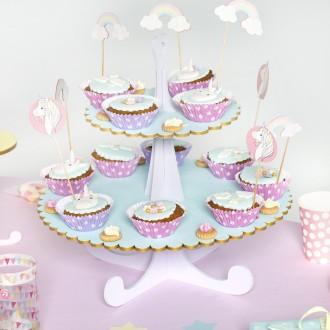 2. Décorer le présentoir à gâteaux