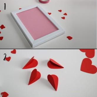 2. Etape 1 : Préparer le cadre coeur origami