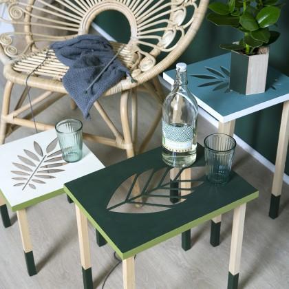 Tutoriel : Fabriquer une table d'appoint décorative