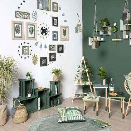 diy cr er une d co murale g ante id es conseils et. Black Bedroom Furniture Sets. Home Design Ideas