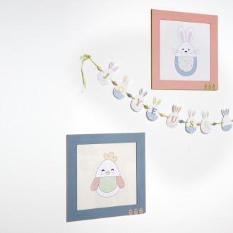 2. Comment décorer un cadre photo de Pâques ?