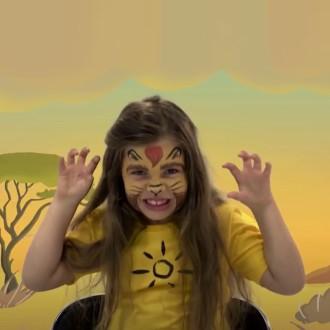 2. Vidéo tuto maquillage Roi Lion Disney