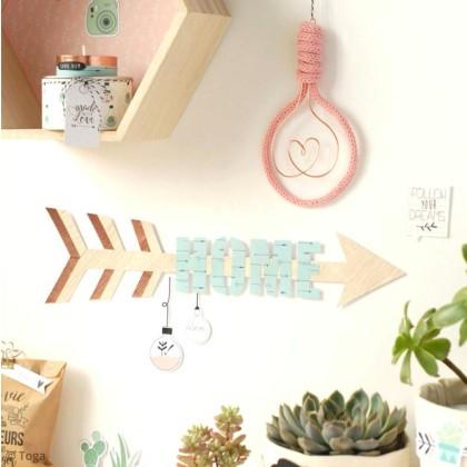 diy tricotin : faire des ampoules déco - idées conseils et tuto