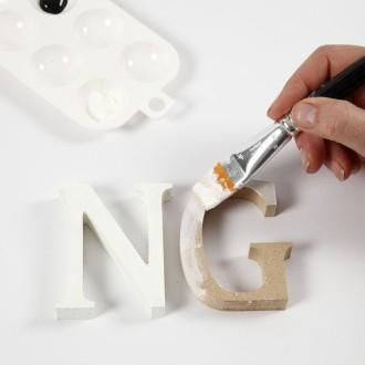 3. Etape 2 : Peindre les lettres