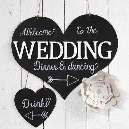 DIY : Faire un panneau déco de mariage