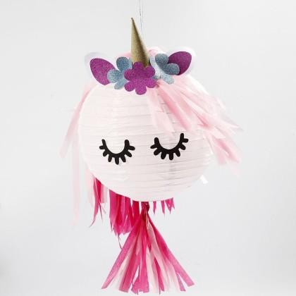 Tuto : Créer guirlande et lampion Licorne