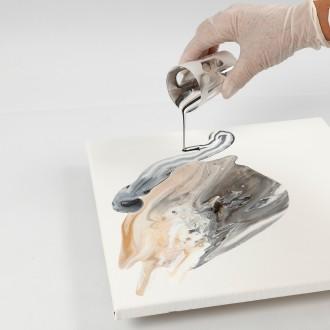 6. Etape 5 : Appliquer encore de la peinture fluide