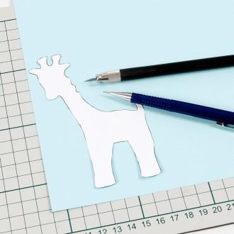 Tuto Comment Réaliser Un Faire Part Girafe Idées