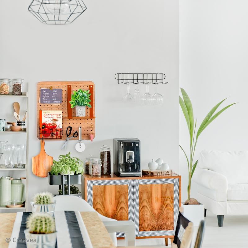 Idee Deco Mettre Un Pegboard Dans Sa Cuisine Idees Conseils