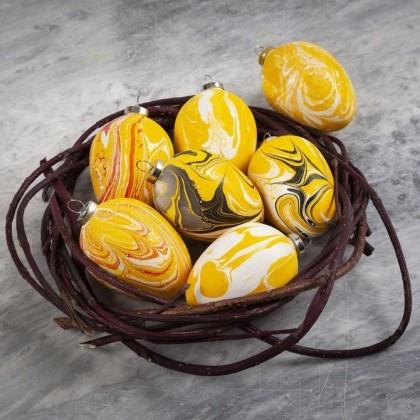 Attrayant DIY : Décorer Des Oeufs De Pâques Marbrés