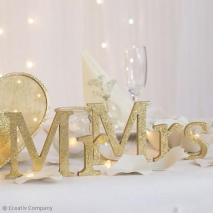 Tuto : Faire Une Décoration De Mariage Mr U0026 Mrs
