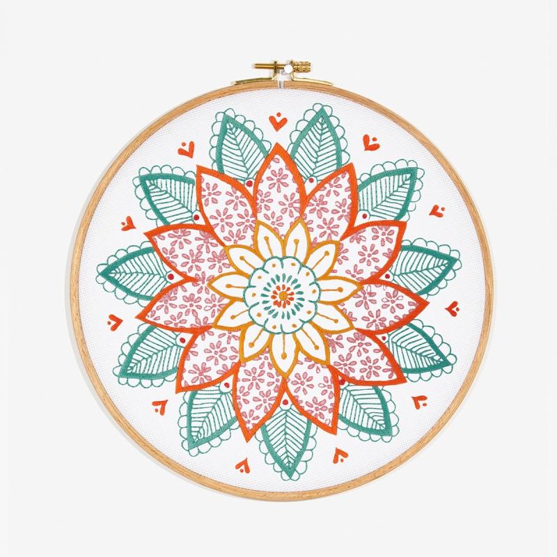 Motif De Broderie Gratuit Mandala Idées Conseils Et Tuto