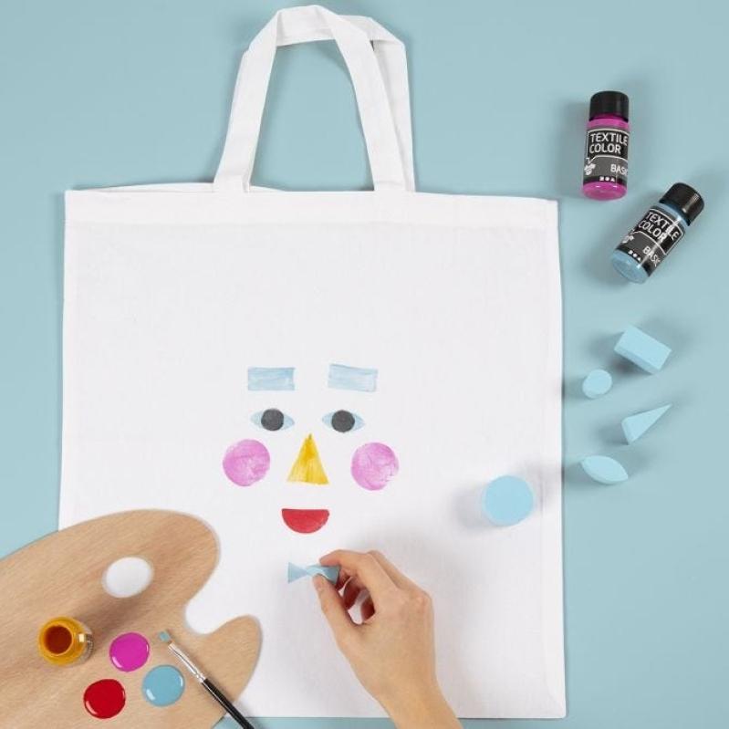 DIY : Customiser un sac avec de la peinture textile Idées