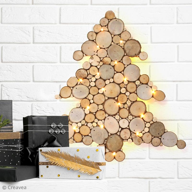 Diy Sapin De Noël Rondelles De Bois Idées Conseils Et