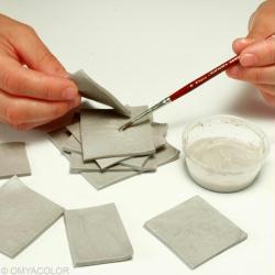 fabriquer un bougeoir de noel en forme de sapin id es. Black Bedroom Furniture Sets. Home Design Ideas