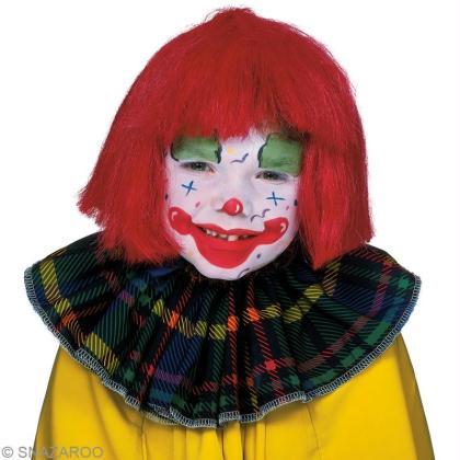 Tuto maquillage clown pour enfant
