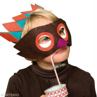 masque de venise loup couronne masque creavea. Black Bedroom Furniture Sets. Home Design Ideas