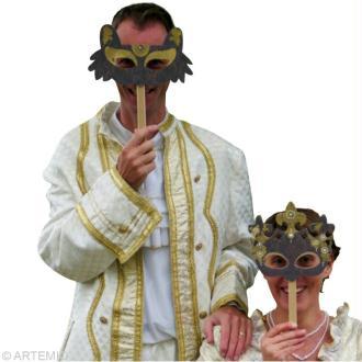 Masque de Carnaval baroque