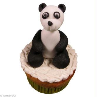 Tutoriel panda en pâte à sucre (ou porcelaine froide)