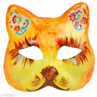 Tuto masque tête de chat