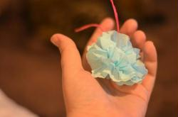 8. Confection d'un pompon 5/5