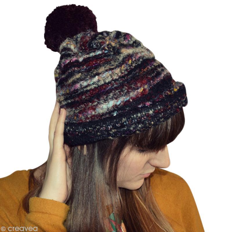 5c73696c4eab4 Fabriquer un bonnet sans tricoter ! - Idées conseils et tuto Couture