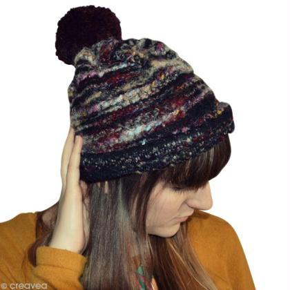 Fabriquer un bonnet sans tricoter !
